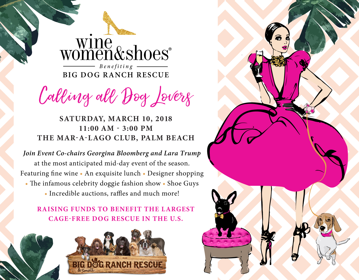 Wine Women And Shoes Palm Beach