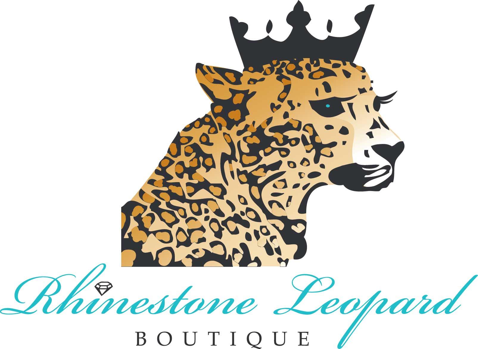 Rhinestone-Leopard-Logo