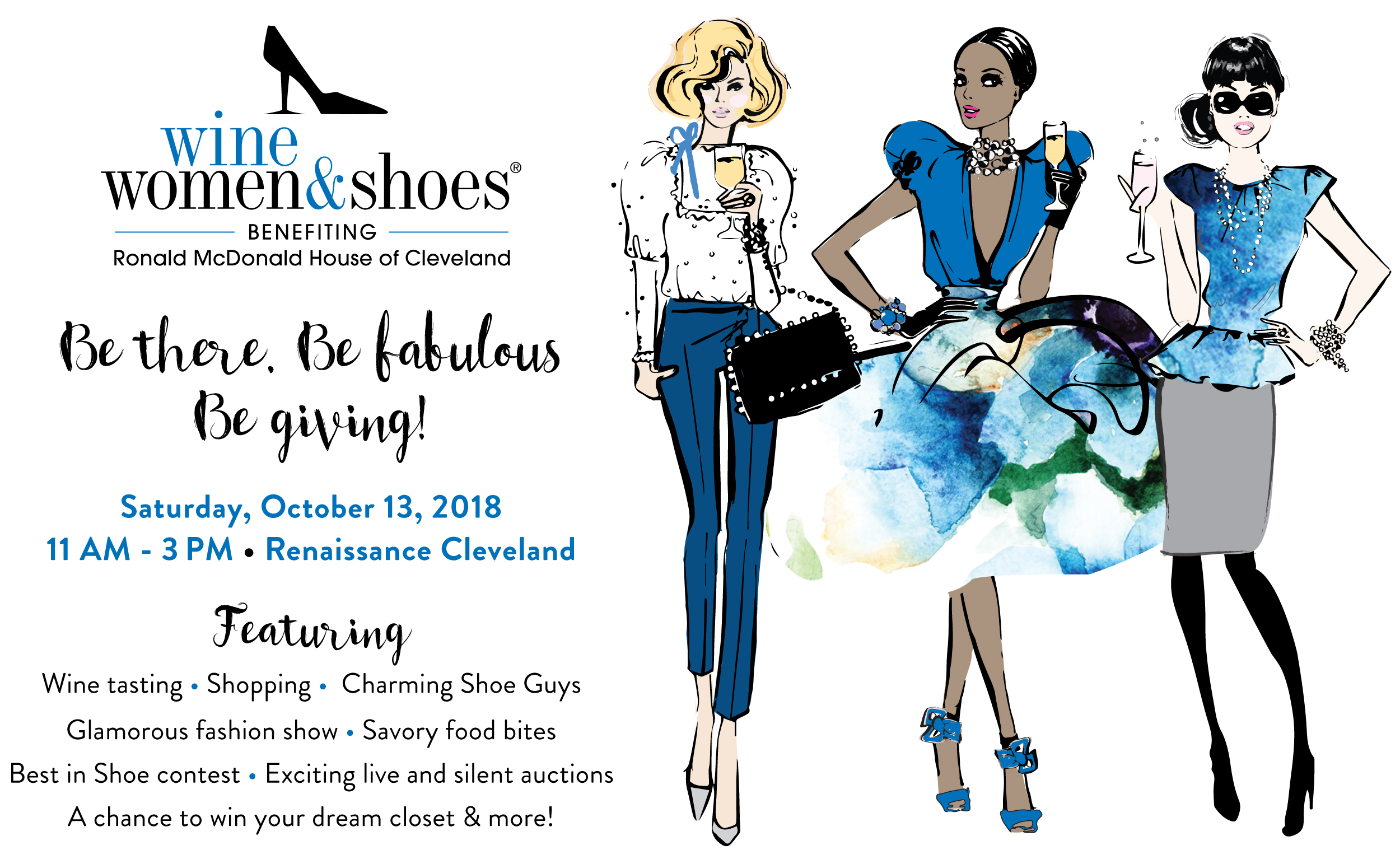 Cleveland, OH 2018 - Wine Women & Shoes